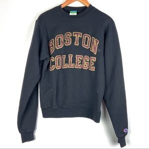 BOSTON COLLEGE sweatshirt XS sewn Champion 01401